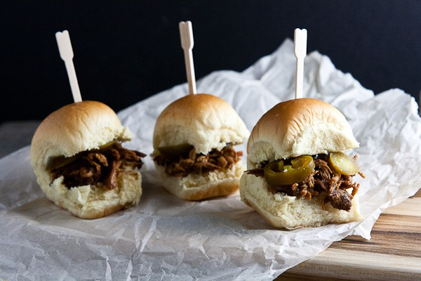 Asian Pulled Chicken Sliders 4