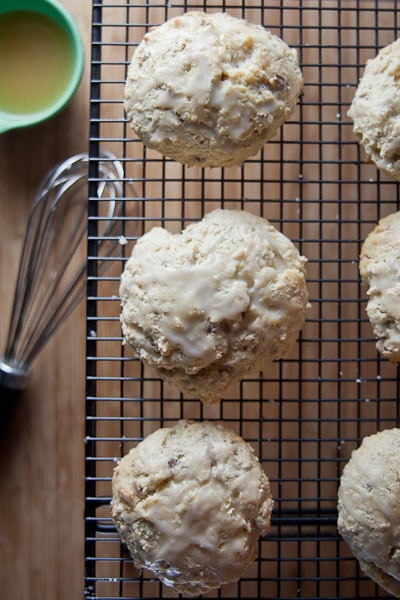 Maple Oat Pecan Scones 1