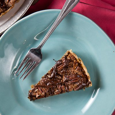 Pecan-Bourbon Tart + Giving Thanks