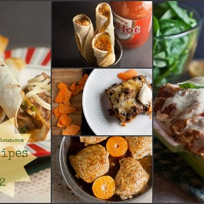 Top 12 Recipes of 2012