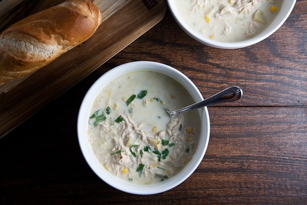 {SRC} Chicken + Corn Chowder 6