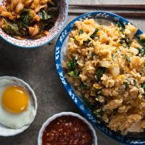 Kimchi Fried Rice from Healthy-Delicious.com