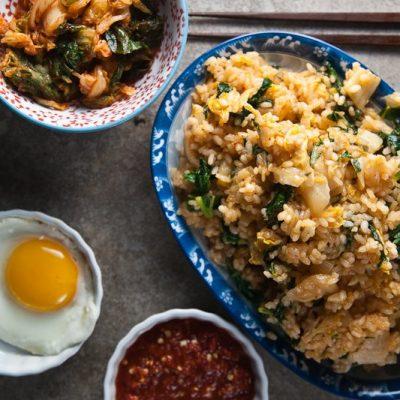 Kimchi + Kale Fried Rice