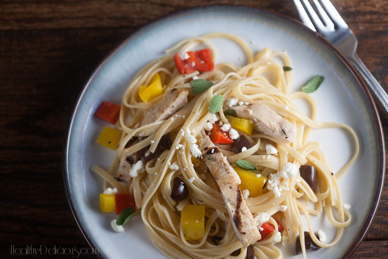 Chicken and Pepper Pasta {+ Marzetti Giveaway!} 3