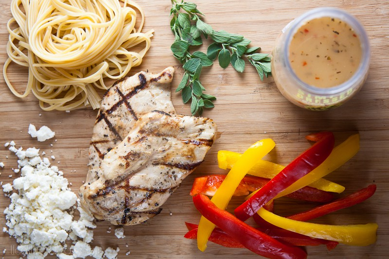 Grilled Chicken and Pepper Pasta-6