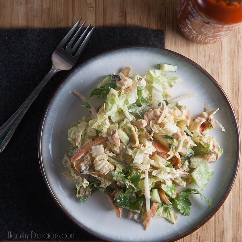 crunchy salmon salad-2-3