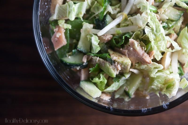 crunchy salmon salad-3