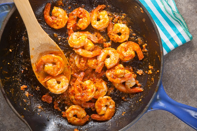 Spicy Shrimp Romesco from Bumble Bee SuperFresh