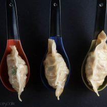 chicken bacon scallion potstickers