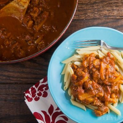 Cajun Chicken Pasta (Secret Recipe Club)