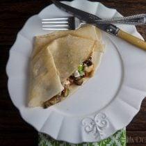 roasted ratatouille crepes