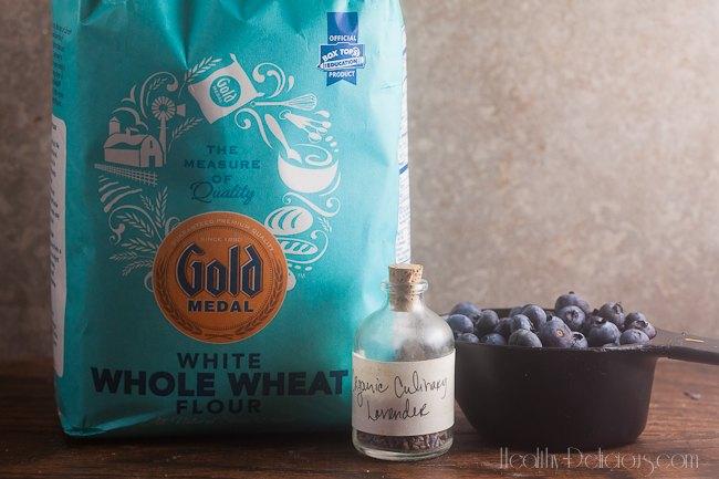 Blueberry-Lavender Coffee Cake-1