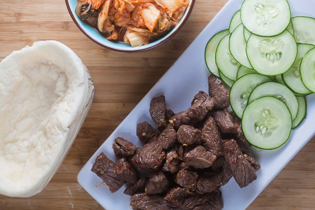 Korean Style Tacos With Kogi BBQ Sauce Recipe — Dishmaps