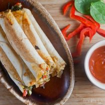 Baked Summer Vegetable Taquitos | Healthy. Delicious