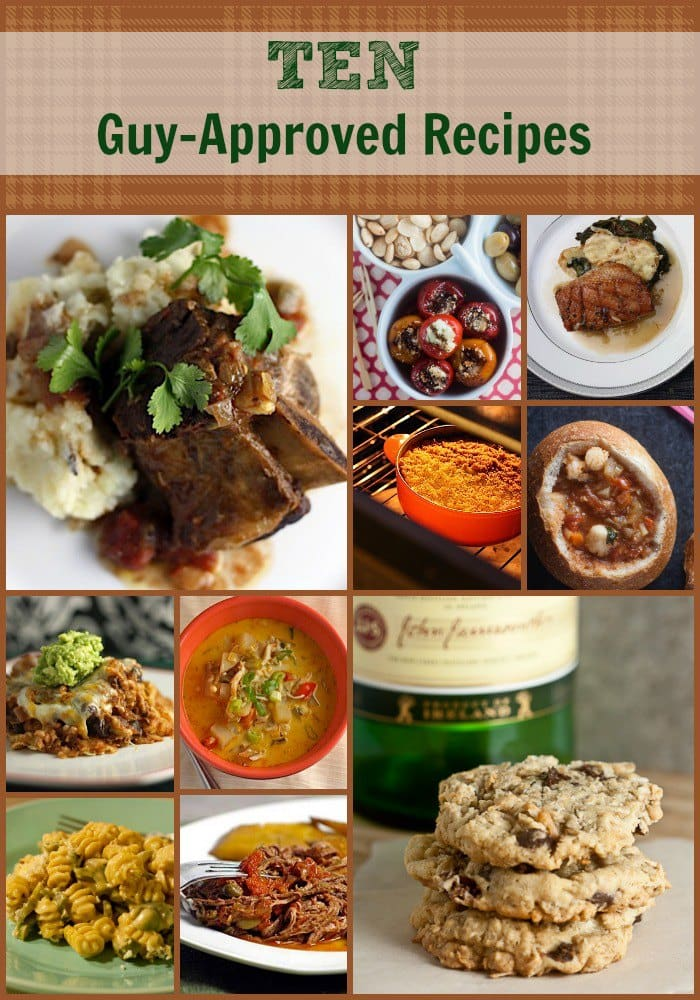 10 guy approved recipes