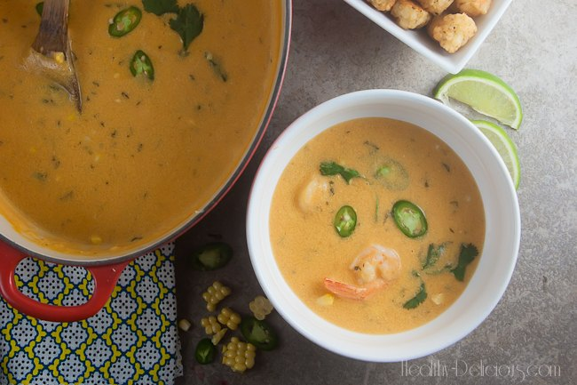Thai Corn Chowder | Healthy-Delicious.com