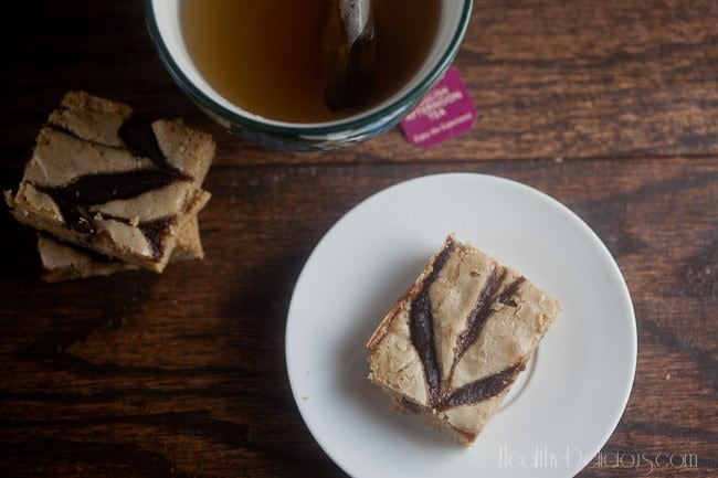 Apple Butter Blondies | Healthy. Delicious.