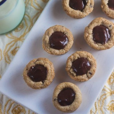 Chocolate Pudding Pie Cookie Cups
