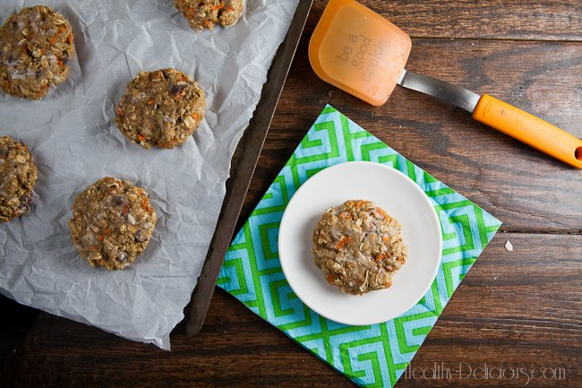 Autumn Harvest Breakfast Cookies | Healthy-Delicious.com