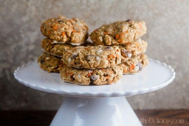 Autumn Harvest Breakfast Cookies | Healthy-Delicious.com
