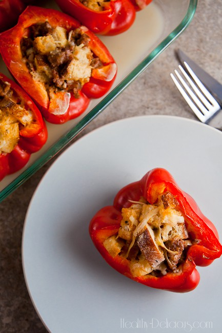 peppers stuffed with everything good