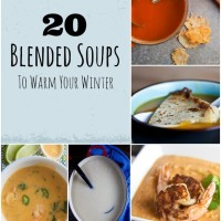 Keep warm this winter with these delicious blended soups