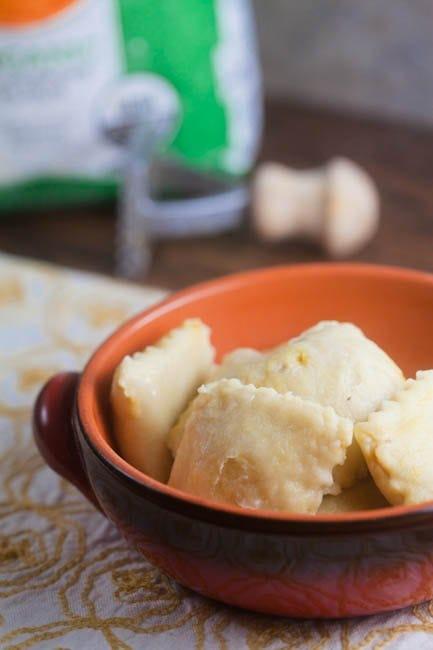 Homemade Pumpkin Ravioli from @HealthyDelish