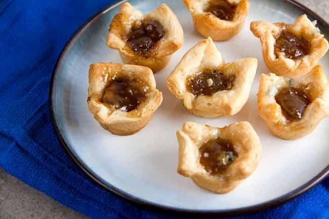 Fig and Gorgonzola Tarts