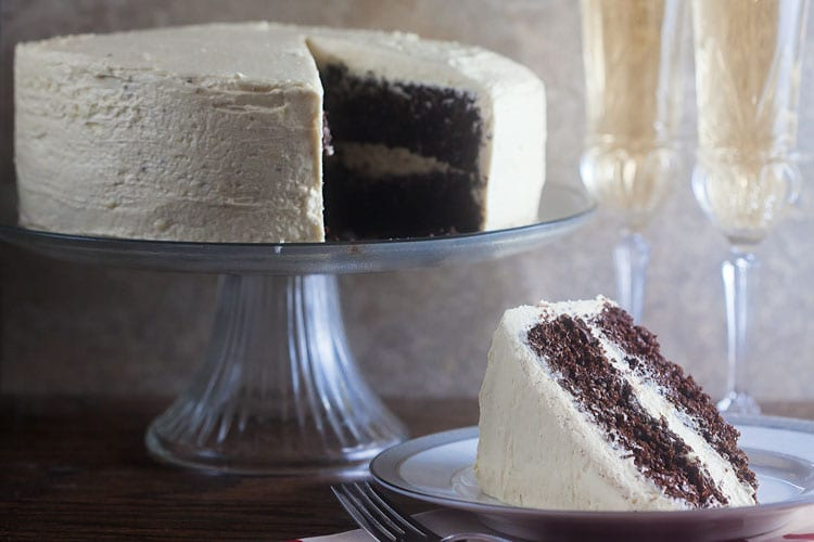 The BEST Chocolate Cake | Healthy-Delicious.com