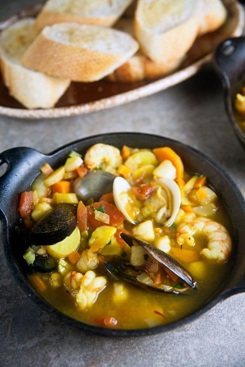 Provencal Seafood Stew | @HealthyDelish
