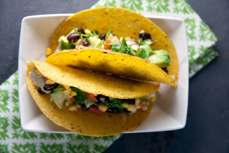 Cajun Chicken Tacos with Corn Salsa