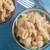 One Pot Apple Butter Mac and Cheese