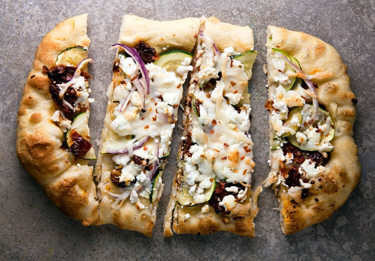 Sun Dried Tomato and Goat Cheese Pizza Recipe