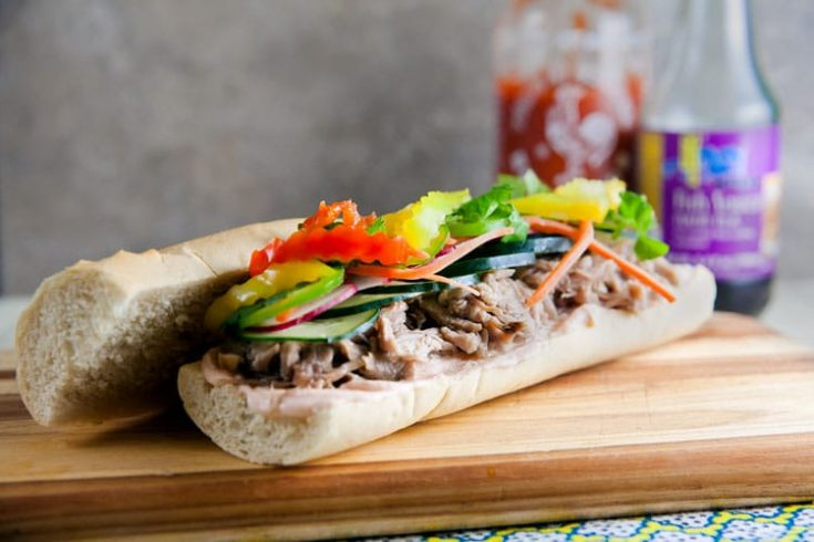 Love Your Leftovers: Pulled Pork Banh Mi 1
