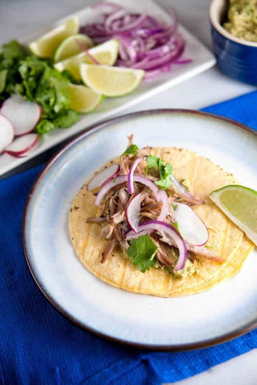 Carnitas Tacos from Love Your Leftovers // @HealthyDelish