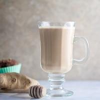 Honey-Ginger Latte // @HealthyDelish