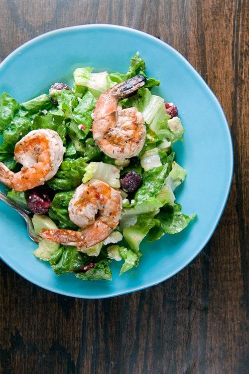 Salad-with-Shrimp-Raspberry-and-Avocado