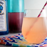 Strawberry Rhubarb Shrub Cocktail // @HealthyDelish