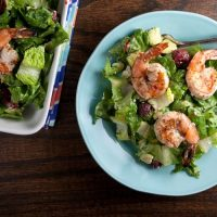 Summer Salad with Grilled Shrimp