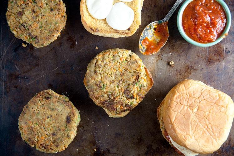 Homemade-Veggie-Burgers