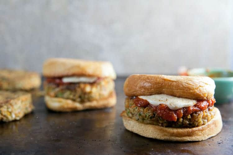 Meatball-Style-Veggie-Burgers