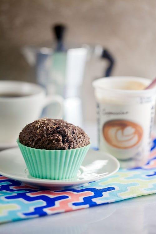 Breakfast-Spread_Chcolate-Muffin-and-Cappucino-Yogurt