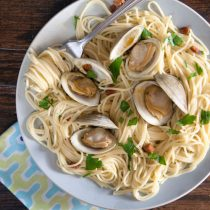 Steamed Clams with Chorizo