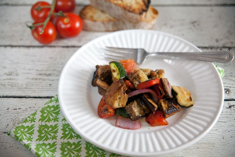 Grilled Vegetable Panzanella | Healthy. Delicious.