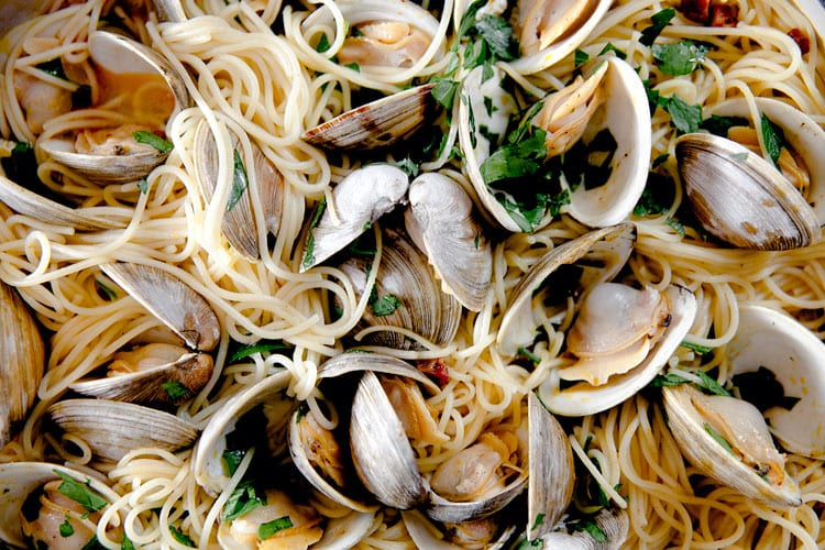 Linguini-Clams