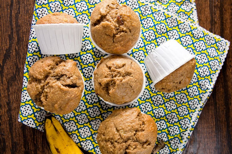 Peanut-Butter-Bacon-and-Banana-Muffins