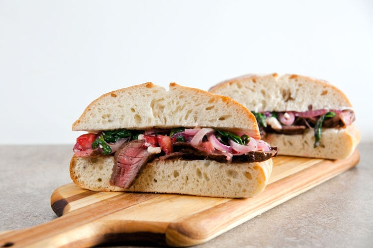 Steak-Strawberry-Onion-Sandwiches