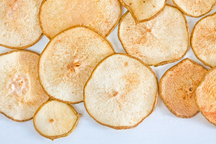 Spiced Pear Chips