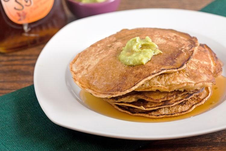 Cornbread Cheddar Pancakes