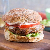 Gluten Free Taco Veggie Burgers